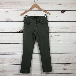 Rock & Republic Kendall Crop Leg Khaki Jeans 28